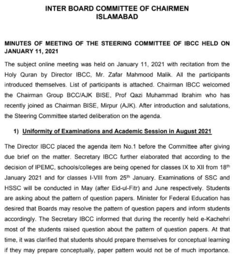 Decision By IBCC