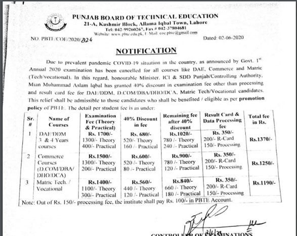 punjab board of technical education